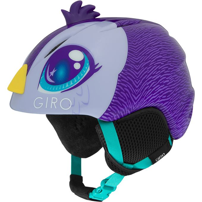 GIRO Launch Plus Purple Penguin XS
