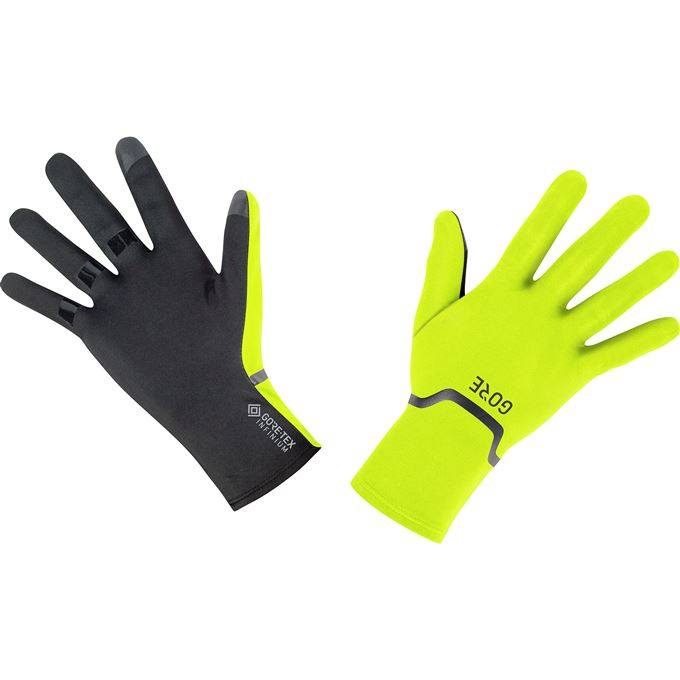 GORE M GTX Infinium Stretch Gloves-neon yellow/black-9