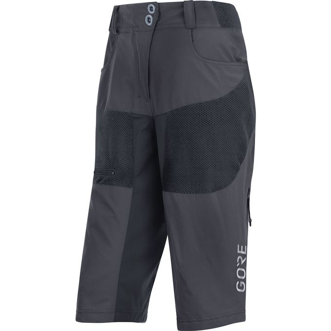GORE C5 Women All Mountain Shorts-terra grey-38