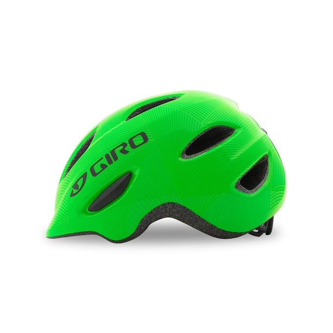 GIRO Scamp Green/Lime Lines XS
