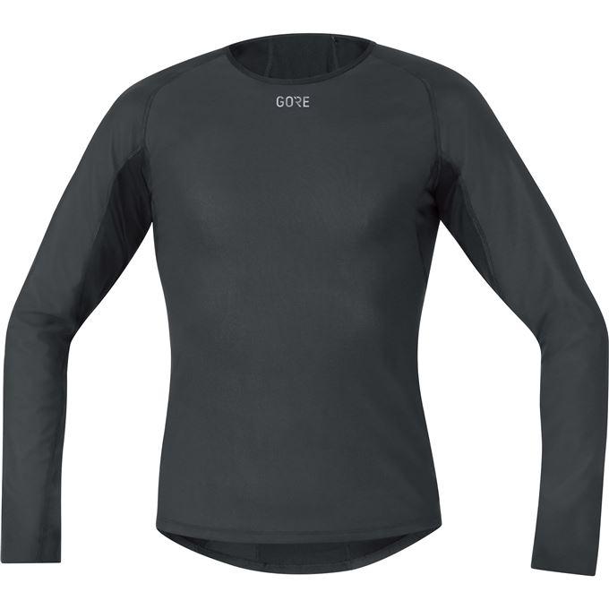 GORE M WS Base Layer Thermo L/S Shirt-black-XL