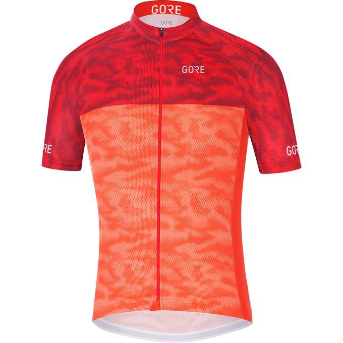 GORE C3 Cameleon Jersey-orange.com/red-M