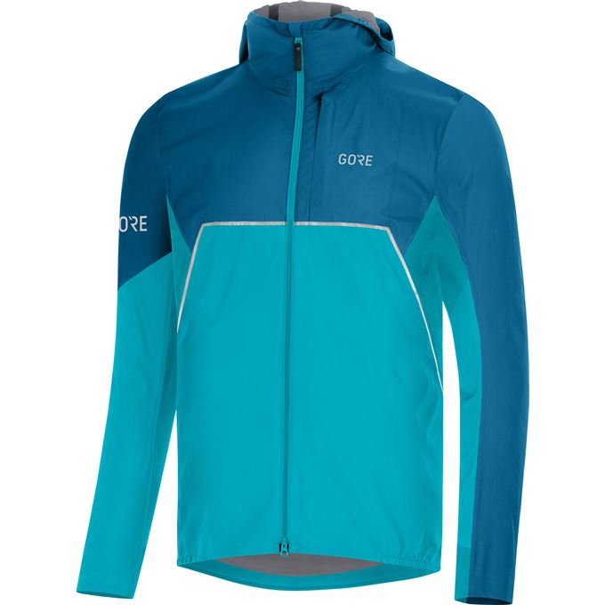 GORE R7 Partial GTX Infinium Hooded Jacket-scuba blue/sphere blue-XXL
