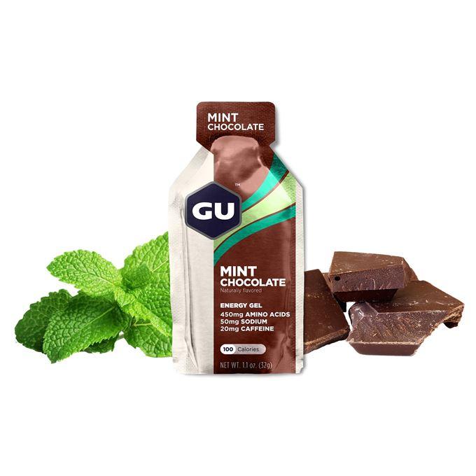 GU Energy 32 g Gel-mint chocolate 1 SÁČEK (balení