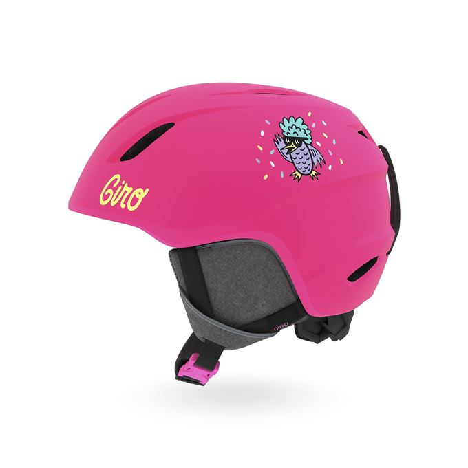 GIRO Launch Mat Bright Pink/Disco Birds S