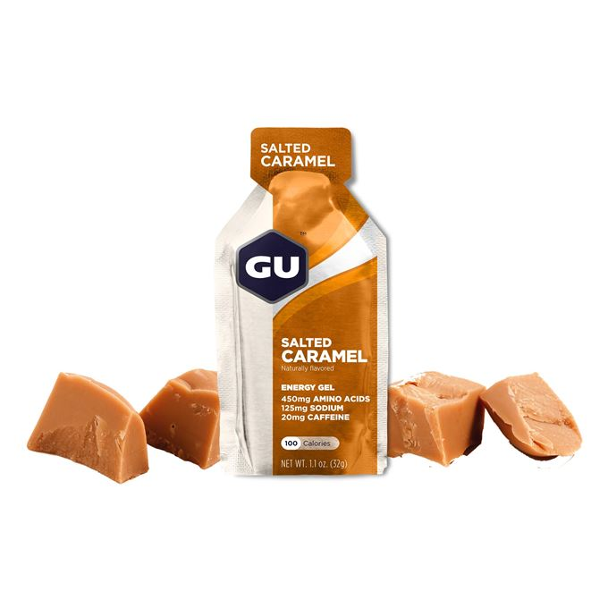 GU Energy 32 g Gel-salted caramel 1 SÁČEK (balení 24ks)