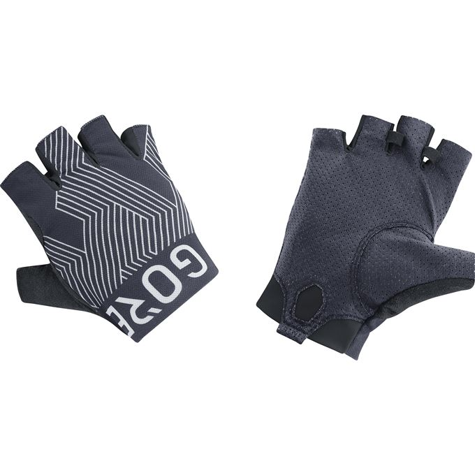 GORE C7 Short Finger Pro Gloves-graphite grey/white-10