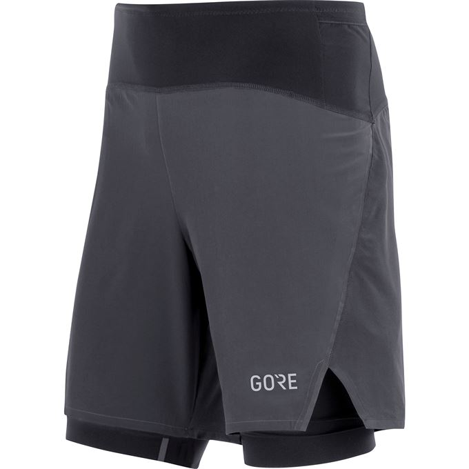 GORE R7 2in1 Shorts-black-L