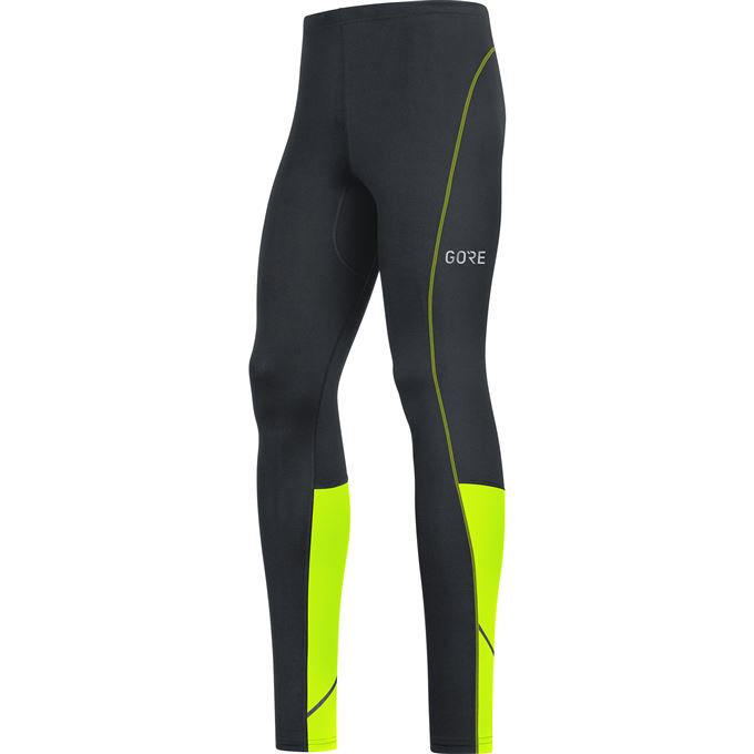 GORE R3 Tights-black/neon yellow-XL