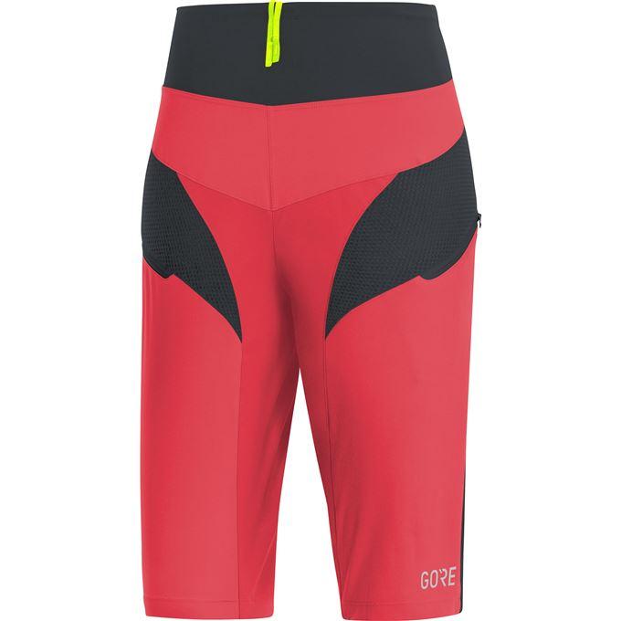 GORE C5 Women Trail Light Shorts-hibiscus pink/black-36