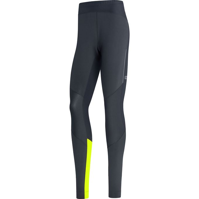 GORE R5 GTX Infinium Tights-black/neon yellow-M