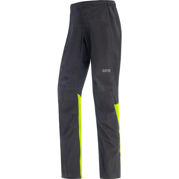 GORE Wear Paclite Pants GTX Mens-black/neon yellow-L