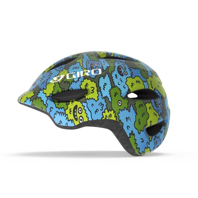 GIRO Scamp Blue/Green Creature Camo XS