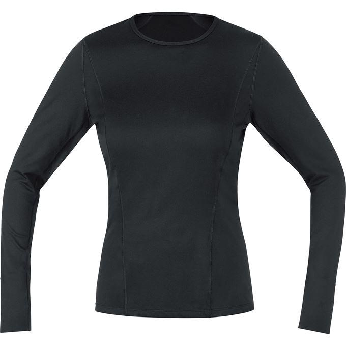 GORE M Women Base Layer Long Sleeve Shirt-black-36
