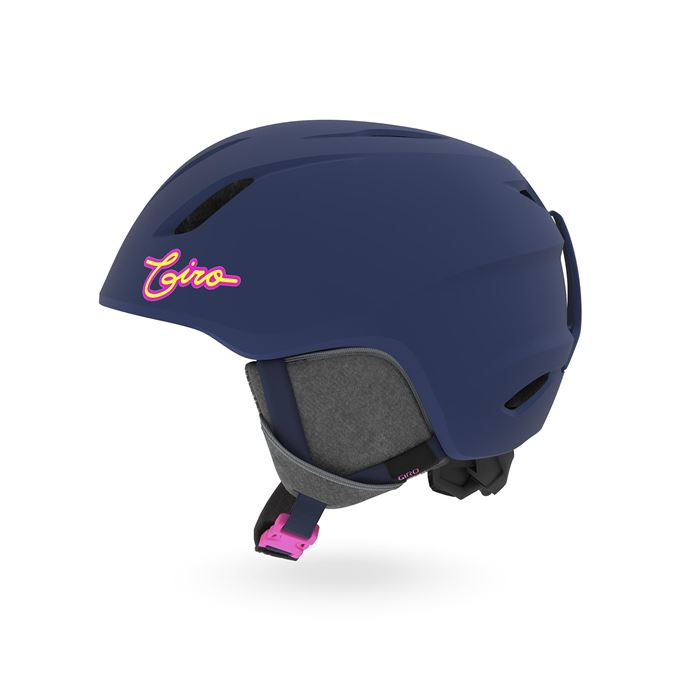 GIRO Launch Mat Midnight/Neon Lights S